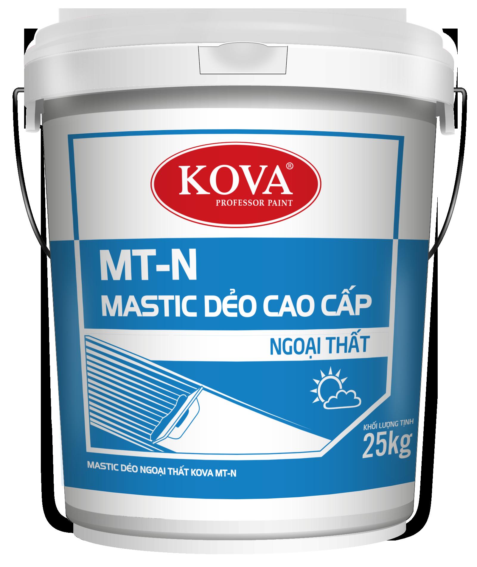 Mastic dẻo ngoại thất Kova MT-N