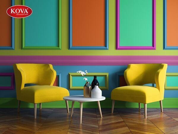Phối màu nội thất Kova