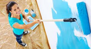 Không khó để tự sơn nhà (video)