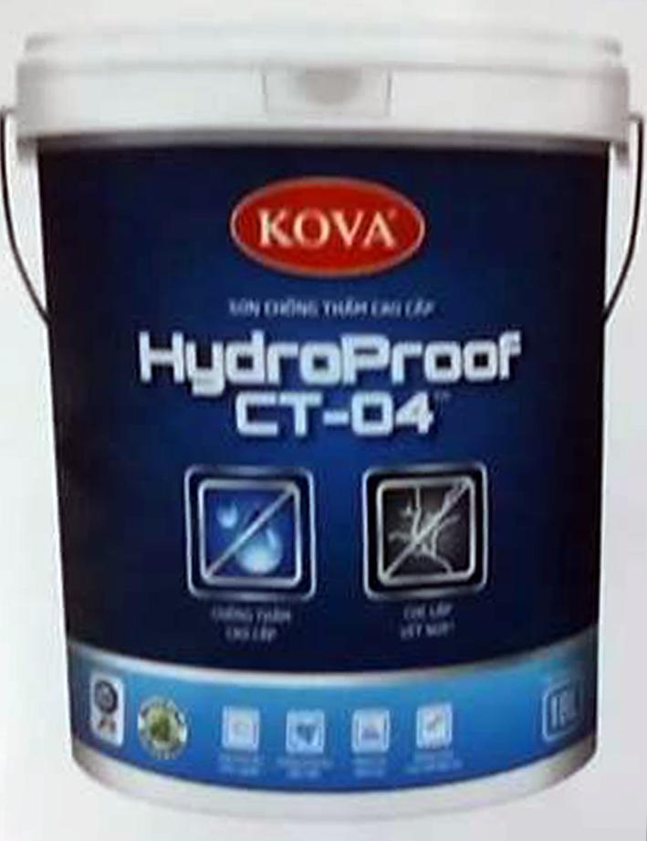Sơn bóng ngoài trời chống thấm cao cấp HydroProof CT-04