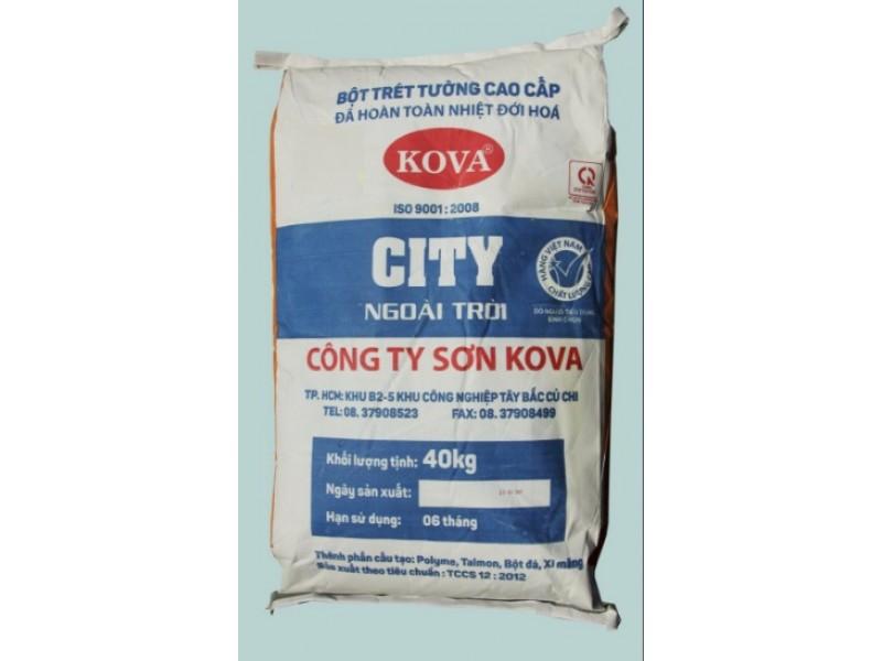 Bột trét tường ngoài trời Kova City