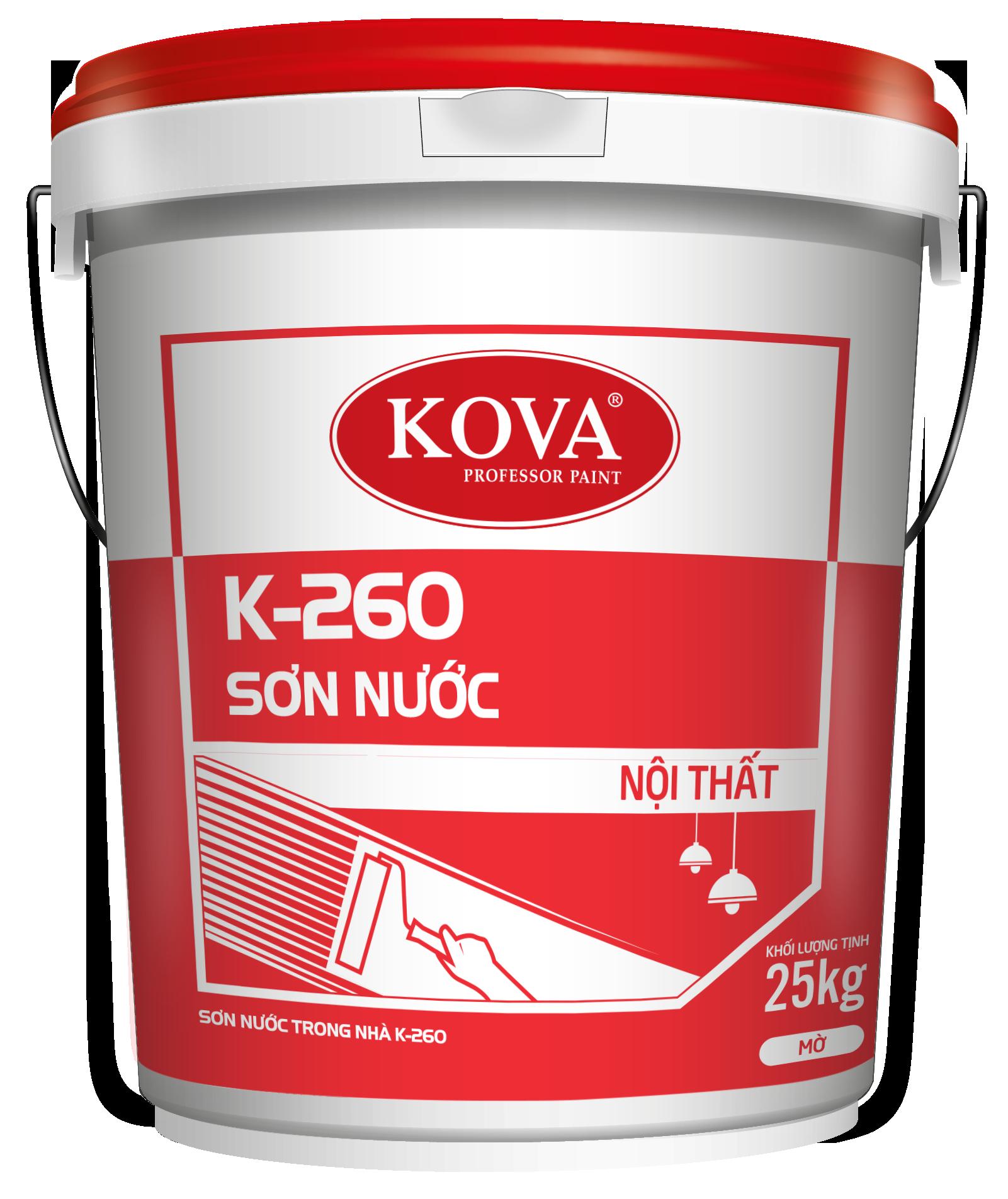 Sơn nội thất cao cấp Kova K-260
